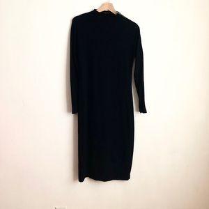 Donna Karan Dresses - Donna Karan dress black long sleeve sz:S wool